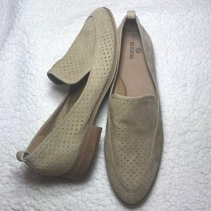 ✨NWT✨ Susina tan slide on leather loafers